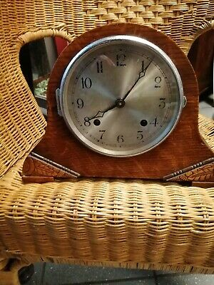 Antique Art Deco Smiths mantle clock
