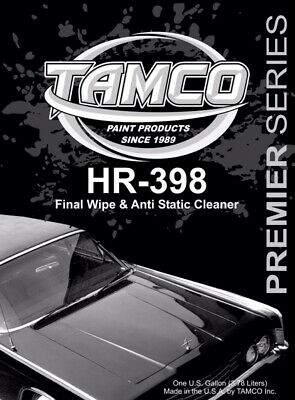 Tamco 398 Anti-Static Final Wipe Prep Solvent Wax and Grease Remover