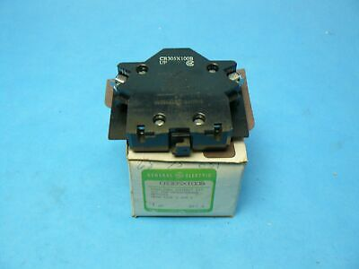 General Electric GE CR305X100B Auxiliary Contact Kit 1 NC NEMA Size 0-1 NOS