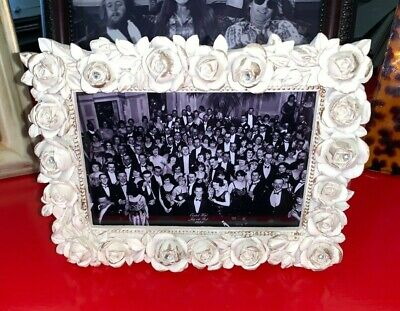 4X6 The Shining Overlook Hotel Ballroom In A Unique Creepy Hand Made Rose Frame