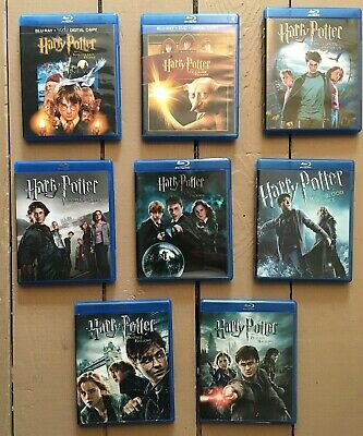 Harry Potter - Complete 8-Film Collection - Blu-ray Disc