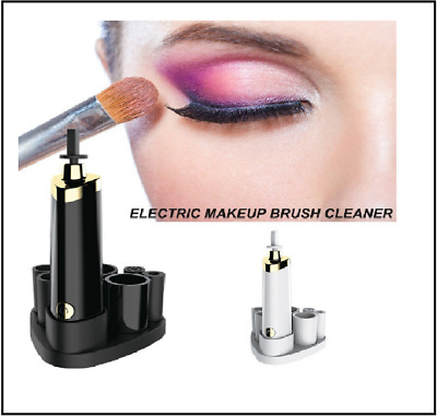Electric Cosmetic Makeup Brush Cleaner & Dryer Machine Tool Brushes Collar Stand