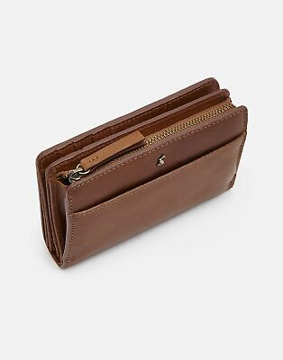 Joules Womens Wyton Leather Purse - TAN in One Size