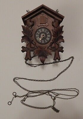German Black Forest D. Hones Titisee-Neustadt Regula Cuckoo Clock for Parts or R