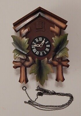 German Black Forest Schmeckenbecher Regula Cuckoo Clock for Parts or Repair