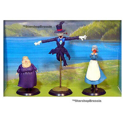 HOWL'S MOVING CASTLE - Witch of the Waste Turnip & Sophie Figure Set Cominica