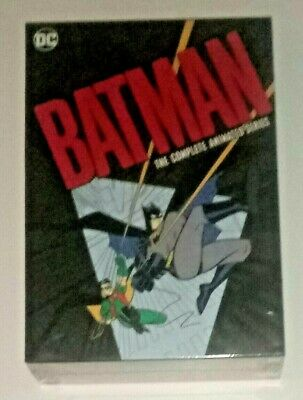 Brand New! Batman: The Complete Animated Series. 12 Disc Dvd Set. Ships Free
