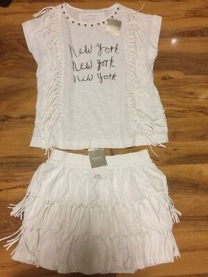 BNWT Next Girls Skirt & Top Aged 8 Years Old (128cm)
