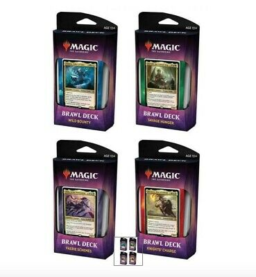 Throne of Eldraine Brawl Decks - COMPLETE SET