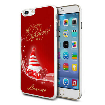 Personalised Xmas Christmas Phone Case Cover for Apple Samsung Initial Name - 79