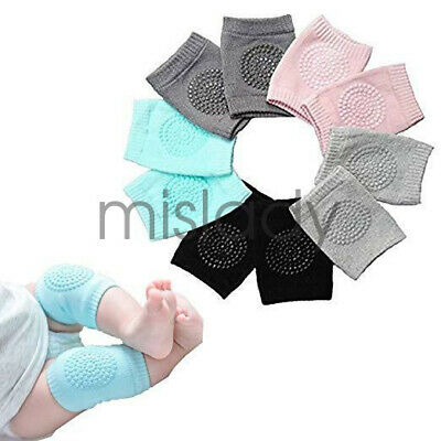 5 pairs Baby Soft Anti-slip Elbow Protector Crawling Knee Pad Infant Baby Safety