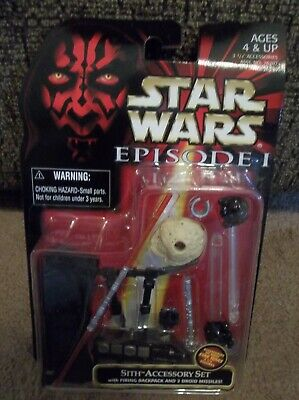 """Star Wars Episode 1 TPM Sith Accessory Kit """"Brand New"""""""