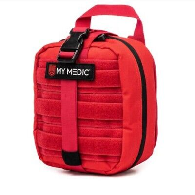 My Medic MyFak First Aid Kit - Water Resistant Bag, Bandages, Burn Aids, CPR NEW