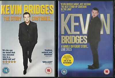 2 Kevin Bridges Comedy DVDs - A Whole Different Story & The Story Continues