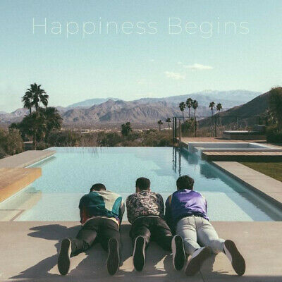 Jonas Brothers Happiness Begins Hand Signed Autographed Cd Album 2019 New Sealed