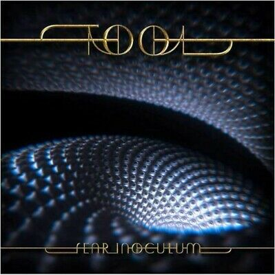 "Tool- Fear Inoculum Limited Deluxe Edition Album Trifold CD w/ 4"" HD Screen New!"