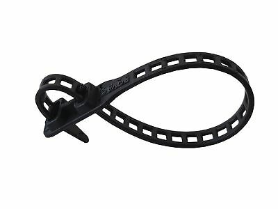 Soft Flexbinder Cable Tie Black Selection Size and Amount