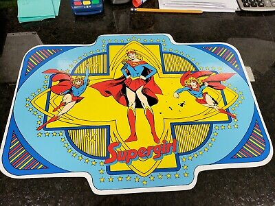 Vintage 1987 DC Comics Supergirl placemat Superman Character very rare!!!