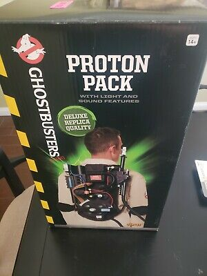 Spirit Halloween Ghostbusters Proton Pack  Lights Sounds Prop Replica Deluxe