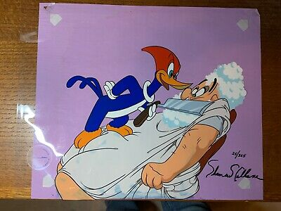Woody WoodPecker Signed Hand Painted Limited Edition