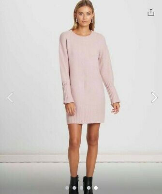 Calli Pink Knitted Dress Never Worn Sz S (paid: $110)