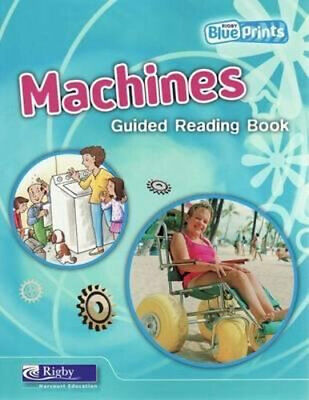 NEW Machines: Guided Reading Book By Jan Pritchett Paperback Free Shipping