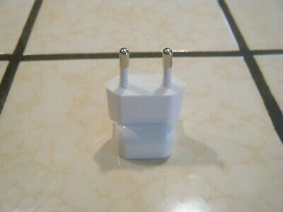 APPLE iPod Charger Plug Converter USED Excellent Condition Classic Authentic EUR