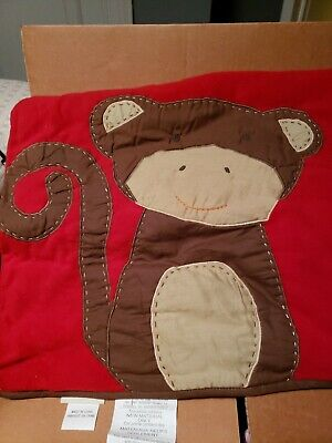 Pottery Barn Kids monkey travel Sleeping Mat with carrying strap