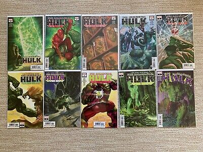 The Immortal Hulk #1 - #10 full run complete 1st prints #2 dr Frye Marvel Comics