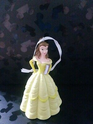 Disney Parks Beauty and The Beast Belle Yellow Dress with Book Christmas...