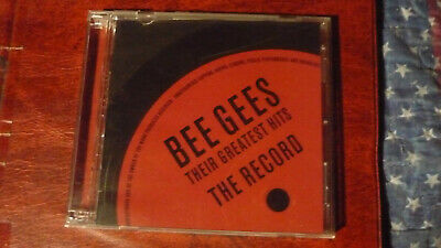 Their Greatest Hits: The Record by Bee Gees (CD, Nov-2001, 2 Discs, Universal...