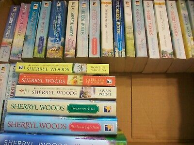 Lot of 23 SHERRYL WOODS Contemporary Romance Books