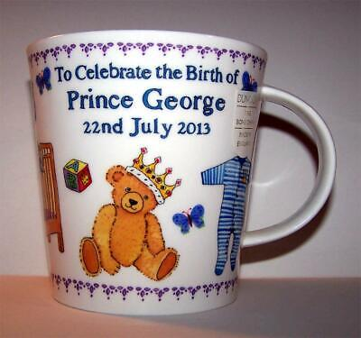 Colorful Mug Celebrating the Birth of Prince George by Dunoon