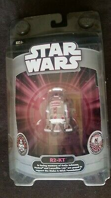 Star Wars Exclusive R2-KT Droid SDCC Make A Wish w/ RARE Katie Johnson Coin 2007