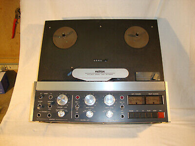 Revox B77 MK II Stereo Reel to Reel Tape Recorder Great Condition