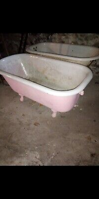 Antique Claw Foot Tub Cast Iron 200-400 lbs