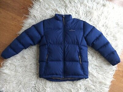 Kids Blue Kathmandu 550 Duck Down Puffer Jacket - Size Medium