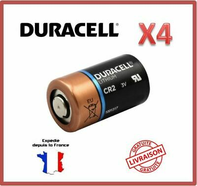 Piles CR2 / DLCR2 / CR15H270 EL1CR2 Duracell Photo Lithium 3V Bulk EXP 2028 X4
