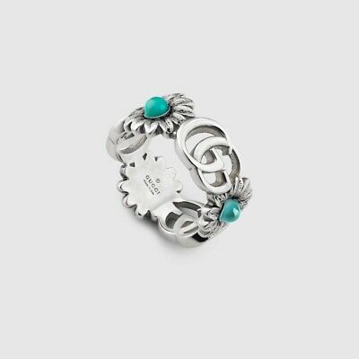 Gucci Double G Flower Ring (Size 10)