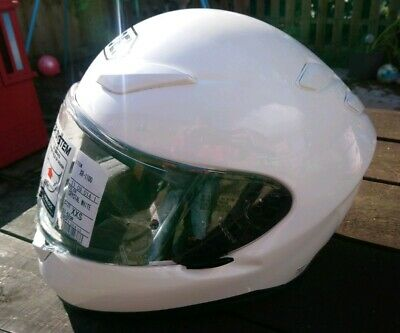 Shoei XR-1100 Helmet Pearl White   Brand New and unworn