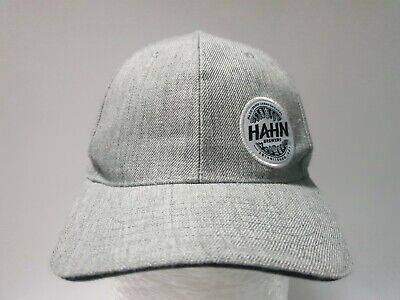 HAHN Brewers Grey Hat Mens Cap Official Acrylic Wool Beer Super Dry