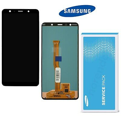 Samsung Galaxy A7 2018 A750F Display LCD Bildschirm   ⫸ Original Service Ware  ⫷