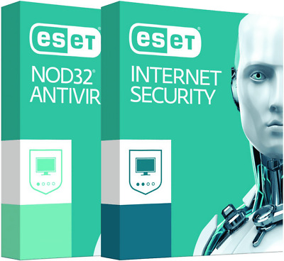 ESET NOD32 Antivirus / İnternet Security 2019 | 1 Device PC | 23-24 MONTH!