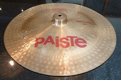 Paiste 2002 China Cymbal 20inch. Great Condition.