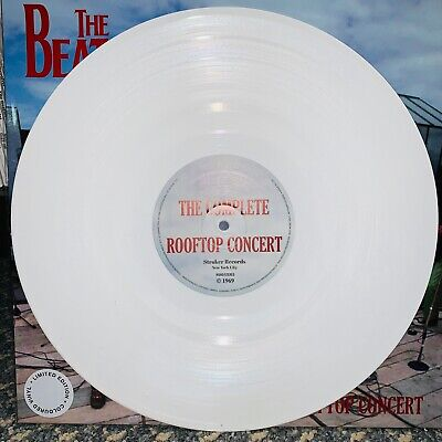 Beatles, Complete Rooftop Concert, White Colored Vinyl W/ Jacket