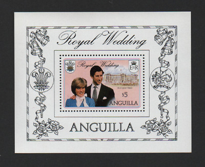 Anguilla 1981 Royal Wedding M/Sheet *Vf Mnh*