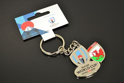 NEW WALES RWC2019 Rugby World Cup Japan 2019 Metal Keyring