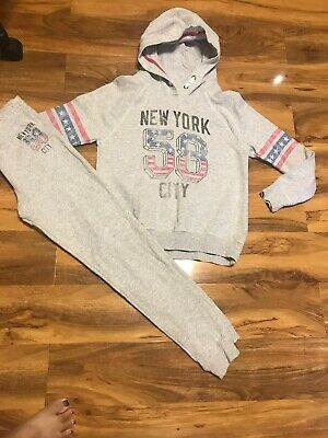 Next Girls Tracksuit Age 12 Years Old (152)