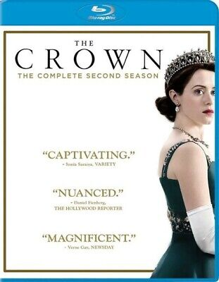 The Crown Season 2 Blu-Ray 4 Discs, Used once in excellent condition, UK only