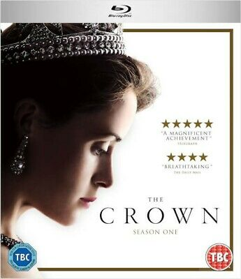 The Crown Season 1 Blu-Ray, 4 Discs, Used once in excellent condition, UK only
